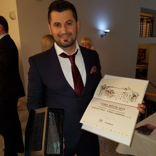 Předání cen města Šumperka v kategorii Drobné podnikání